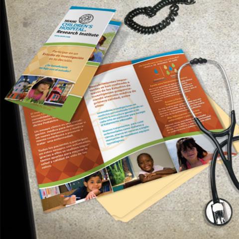 11 x 17 tri fold brochure duplication spot